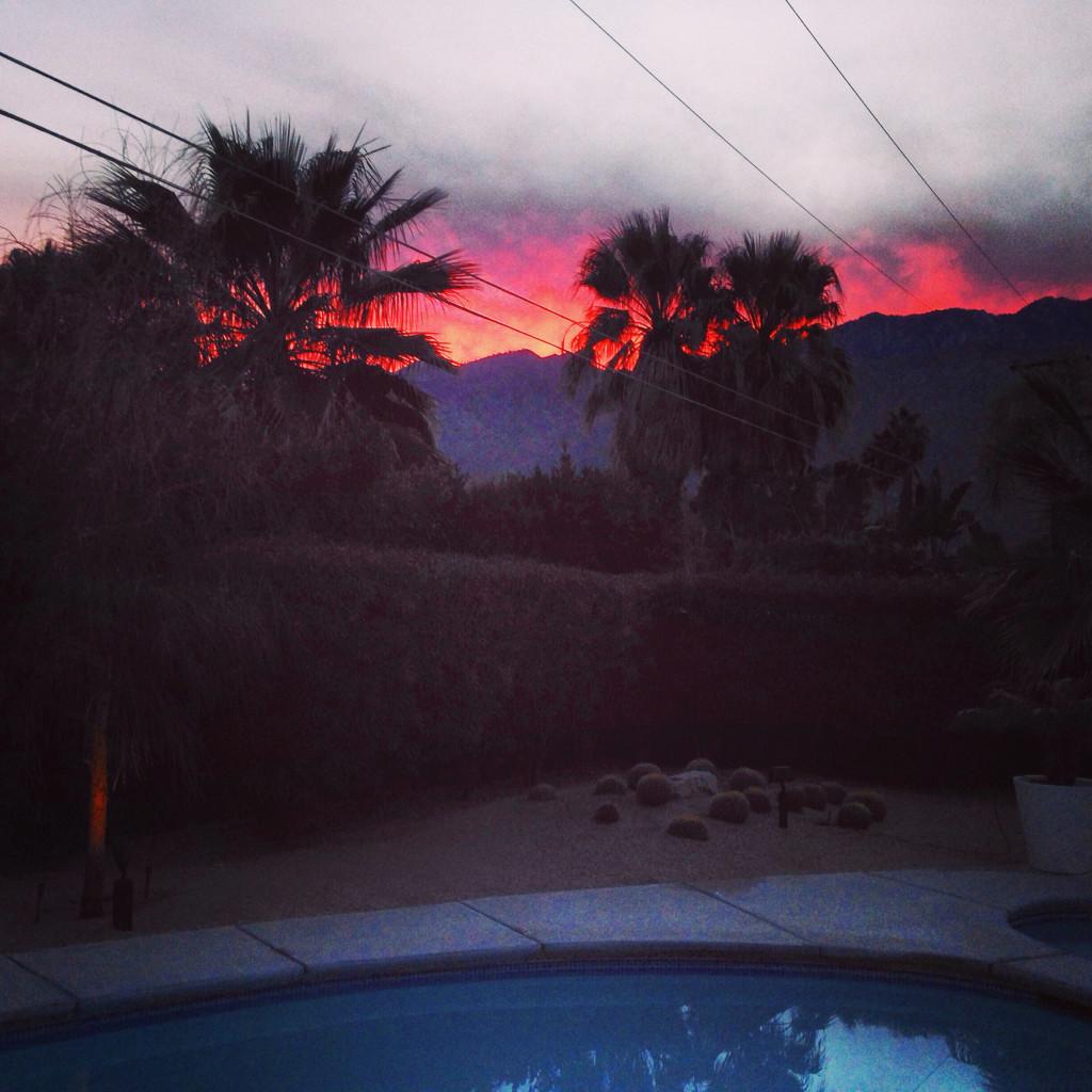 sunsetvolcano